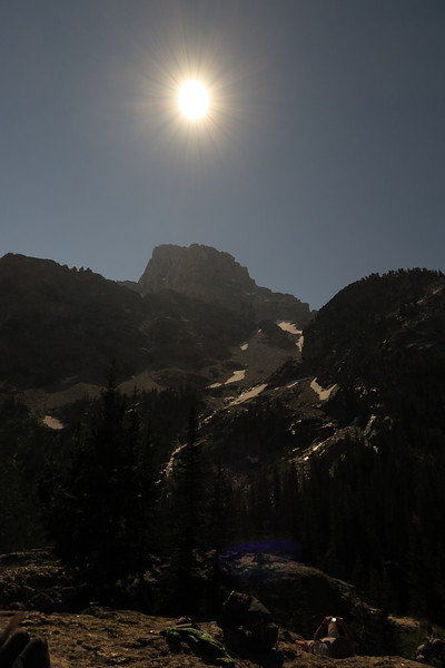 Eclipse over Grand Teton