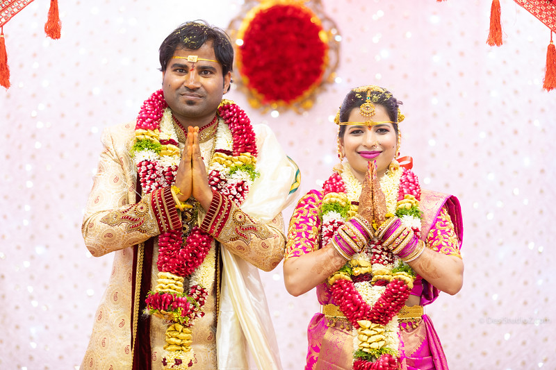 Naveen and Gayathri Wedding