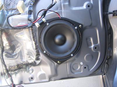 2003 lexus is300 sedan Front Door Speaker Installation - USA