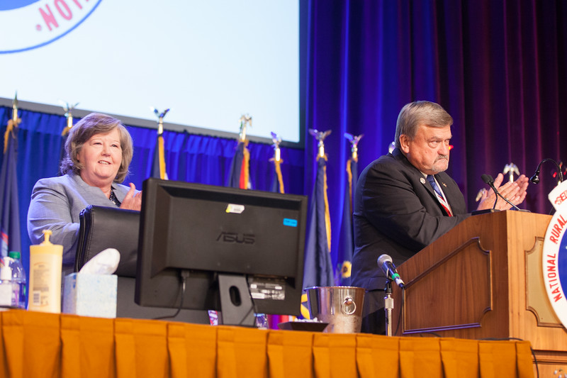 Megan Brennan & Ronnie Stutts, Joint Opening Session 111457.jpg