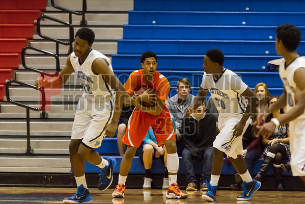 Boone Braves vs Dr. Phillips Panthers Boys Varsity Basketball District Championship Game - 2015