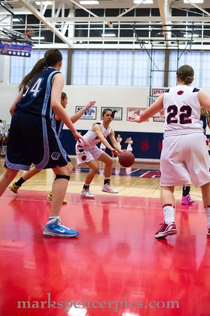Basketball Girls SHS vs Salem Hills 1-17-2012
