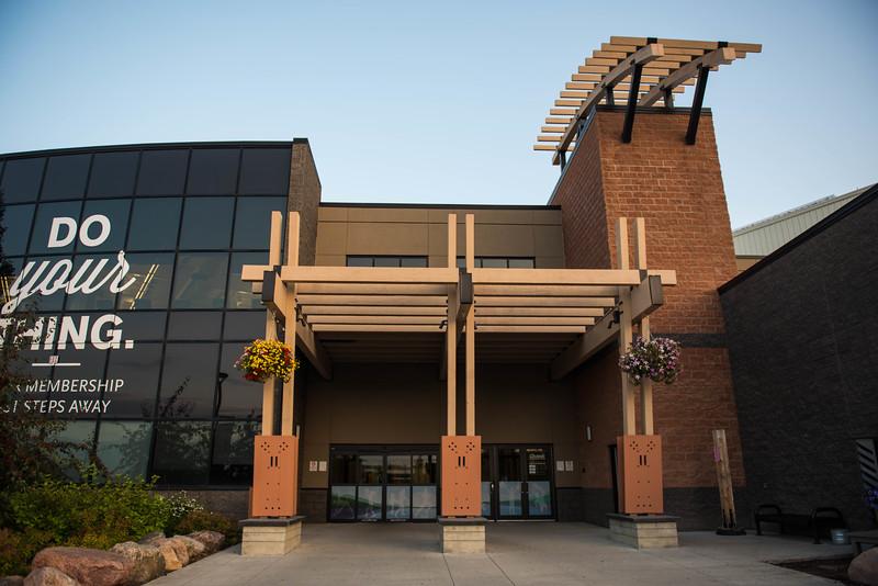 Leduc Recreation Centre Exterior Entrance