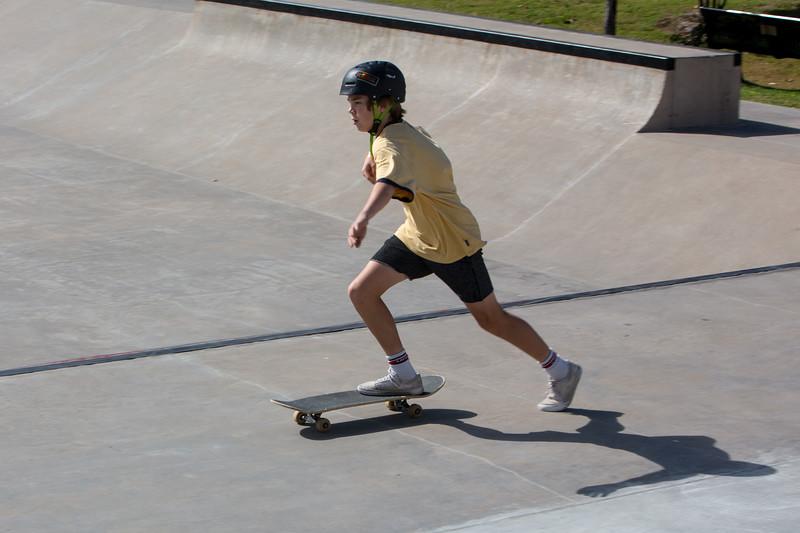 Nick and Zach - skate park