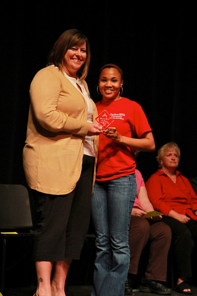 Student Leadership, Service and Volunteerism Recognition Program; Aprl 26, 2011. GWU Pageant's Most Photogenic: Shauntel Grenne