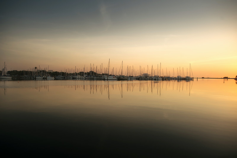 St Petersburg at Sunrise