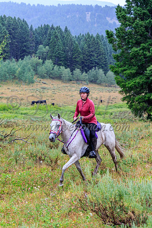2021 Top o the World - Saturday LDs and Trail Riders on Alex Draw Loop