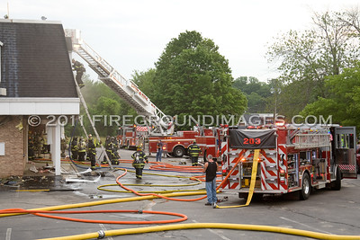All American Appliance Fire (Monroe, CT) 6/16/11