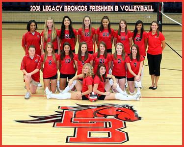 2008 Mansfield Legacy Freshmen B Volleyball