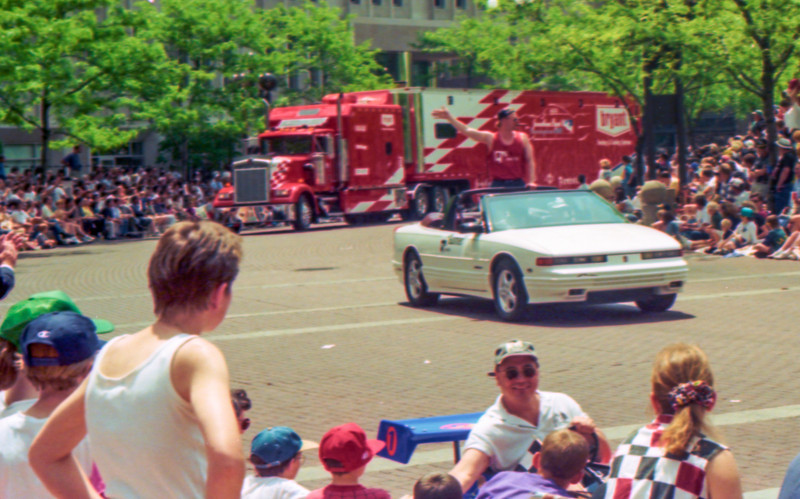 1997 Indy 500 & Parade