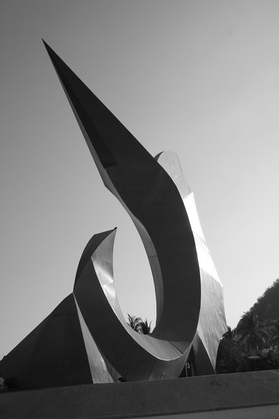 giant marlin statue, manzanillo