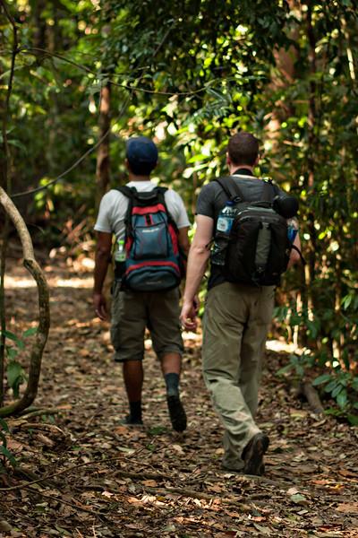 John and Jungle Eddie.