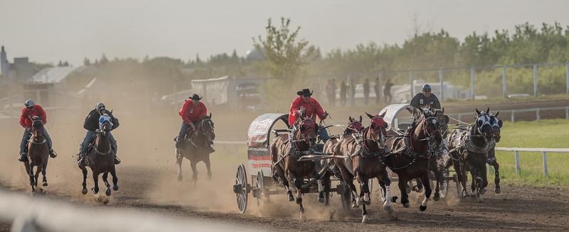 Canadian Professional Chuckwagon Race May 30 2015