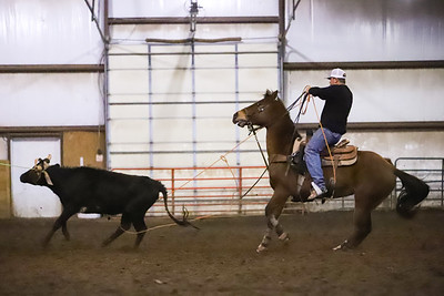 White Horse Arena Roping