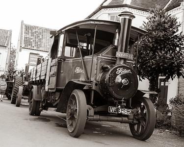 Steam in Reepham