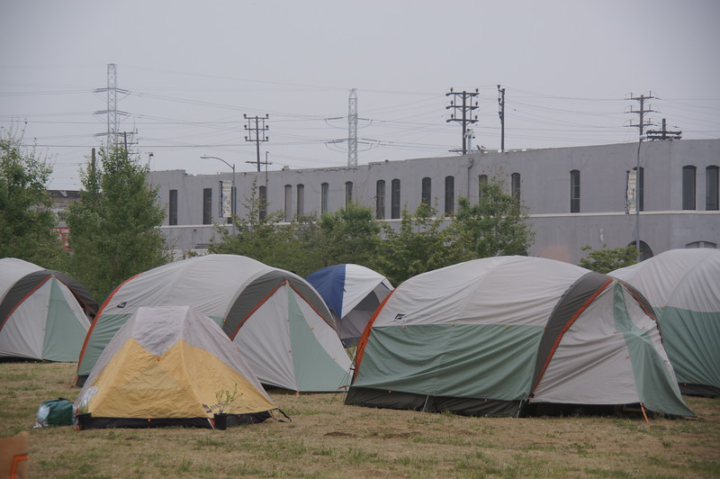 Camping Site - Tents