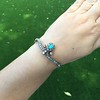 2.65ctw Victorian Turquoise and Rose Cut Diamond Tiara Bangle 26
