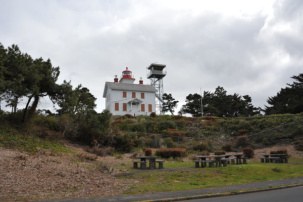 Yaquina Bay Lighthouse Area
