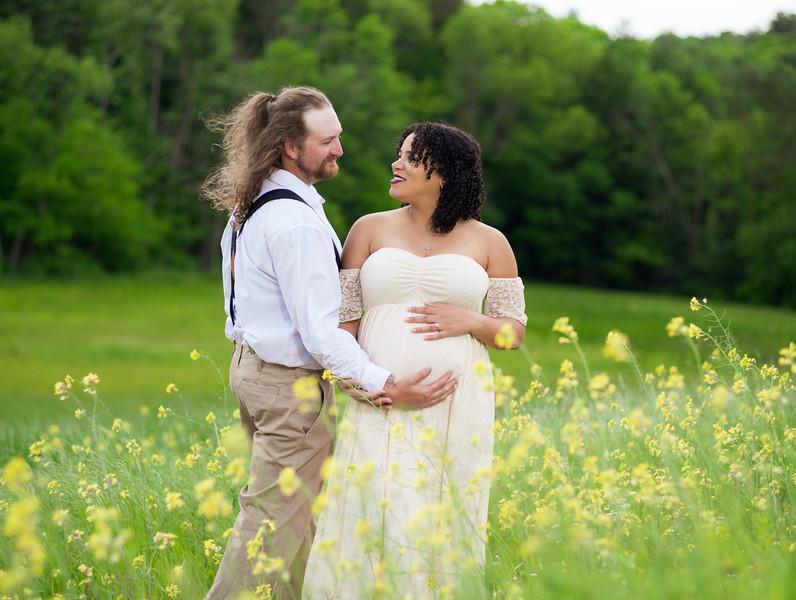 Nick and Becca Maternity