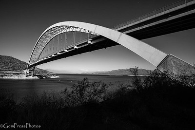 Roosevelt Lake Bridge, Arizona