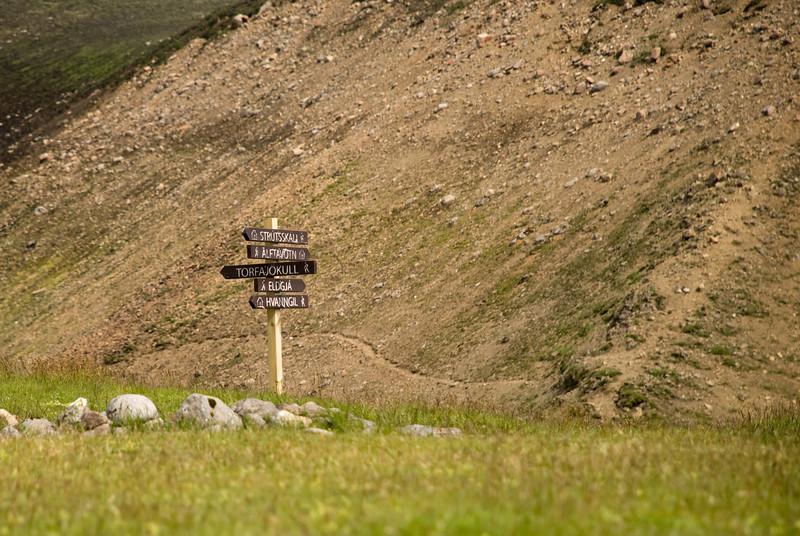 Hvert skal halda? Strútsskáli, Álftavötn, Torfajökull, Eldgjá eða Hvanngil