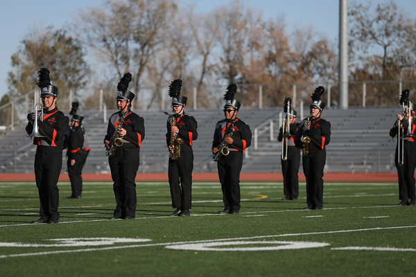 Aztec HS Marching Band 10-30-19