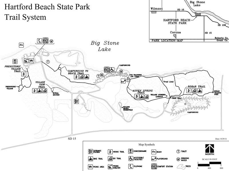 Hartford Beach State Park (Trail Map)