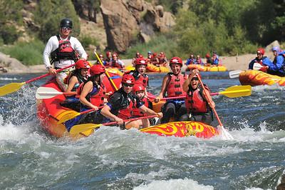 Brown's Canyon Rafting