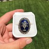 2.04ctw Georgian Urn Motif Diamond and Enamel Ring 42