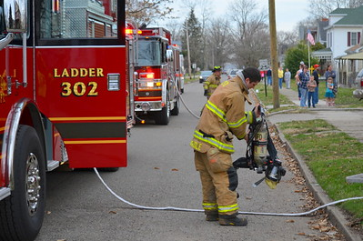 04-06-13 Coshocton FD House Fire