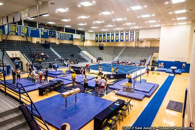 Pre + Post Meet - Michigan Men's Gymnastics Vs UIC 3-25-17