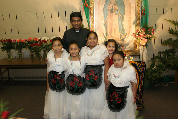 Our Lady of Guadalupe Celebrations at Risen Savior