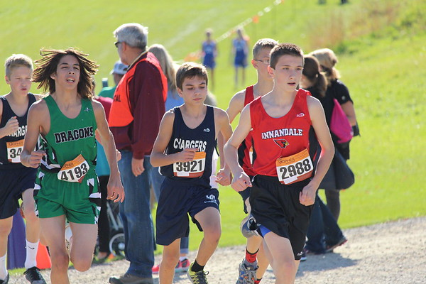 DC Cross Country at WCC West Championship, 10-17-17
