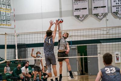 2021-03-29 PHS vs Cathedral Varsity Volleyball