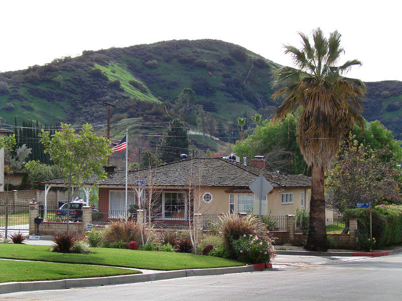 Phyllis's old house in Sunland
