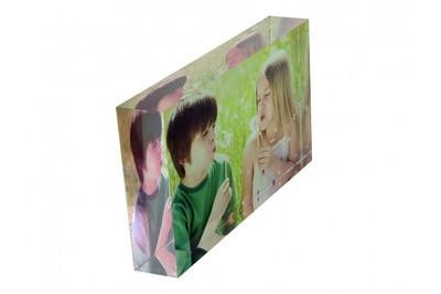 Acrylic Block freestanding