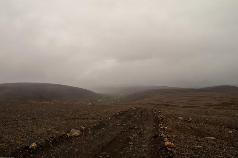 Heading towards the Laugavellir Valley