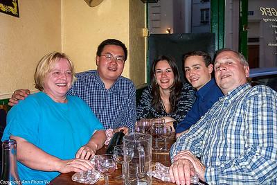 05 - Dinner with Heiner's Parents Paris May 2004