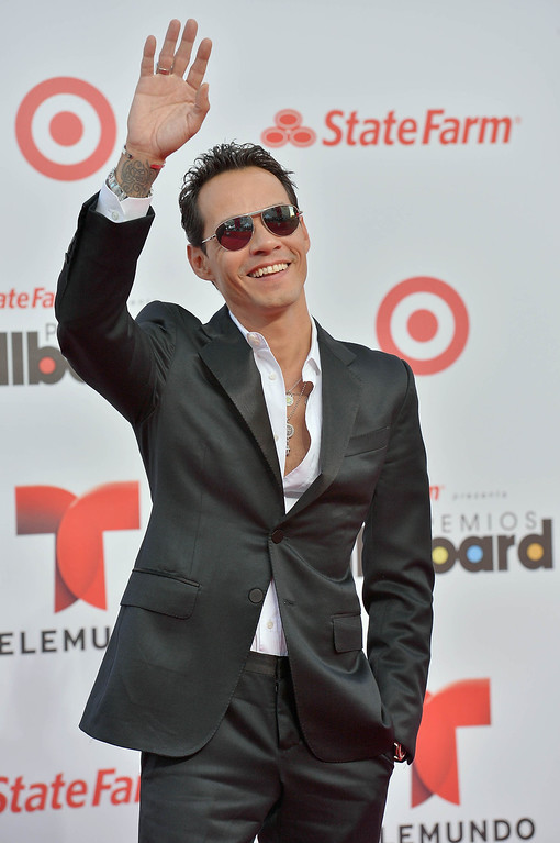 . MIAMI, FL - APRIL 25:  Marc Anthony arrives at Billboard Latin Music Awards 2013 at Bank United Center on April 25, 2013 in Miami, Florida.  (Photo by Gustavo Caballero/Getty Images)