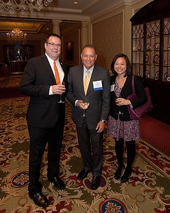HCSF related photos at Michael Dunne's Goldman Award Luncheon