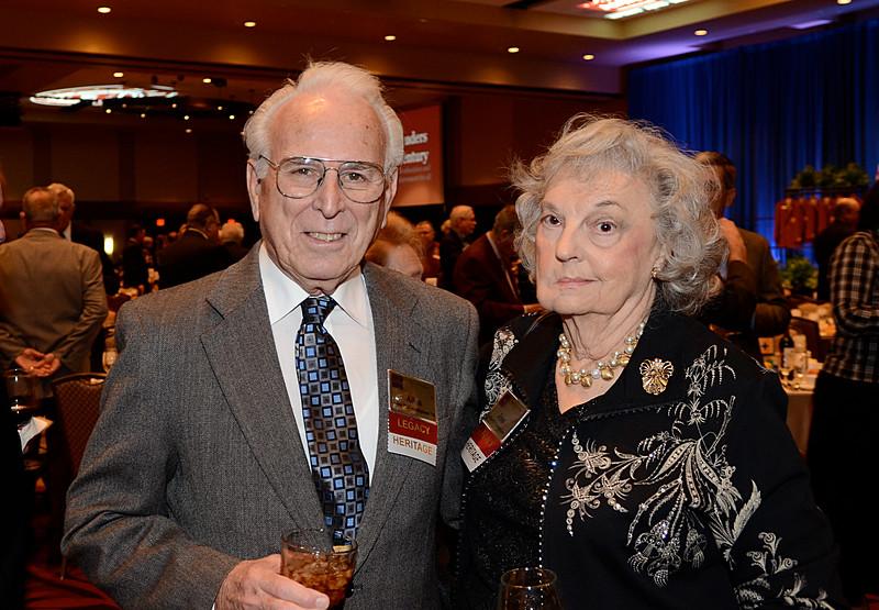 Allen Cunningham '54, Jean Cunningham