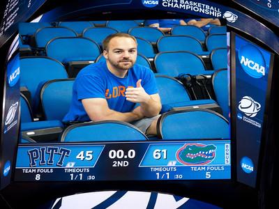 NCAA 3rd Round Tourny BBall Game Gators V Pitt 3/22/14