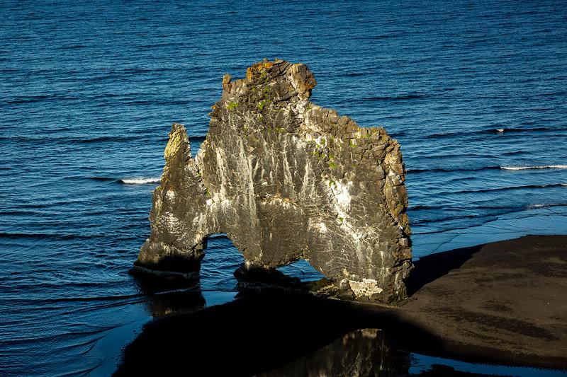 hvitserkur sea arch