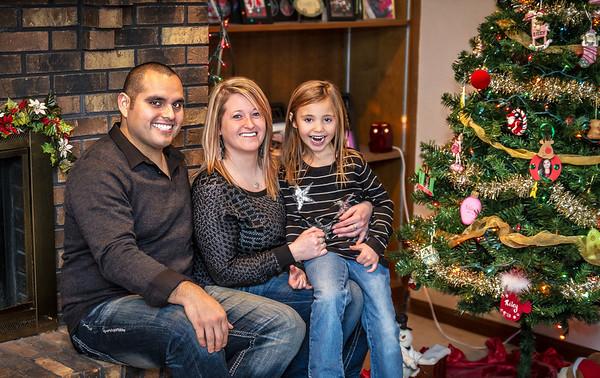 Glass Family Holiday Photos