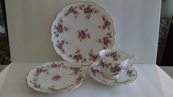 Bone China Tea Pots, Cups and Dishes