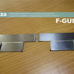 SKU: F-GUIDE/L, A Pair of Two Stainless Steel Media Guide Plates for FastCOLOUR Lite Large Format Printer