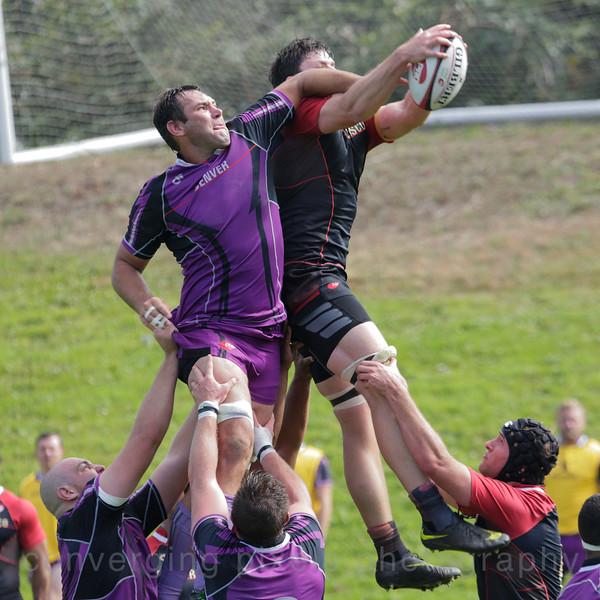 San Francisco Rugby Team vs. Denver Rugby Team.