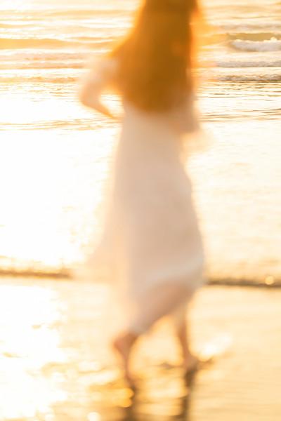 寫真攝影_新竹_新月沙灘_夕陽_逆光_個人寫真