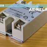 SKU: AE-RELAY/25, 25A Solid State Relay Module, 3-32V DC Input, 24-380V High-Current AC Load
