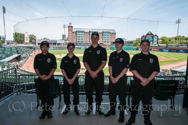 Law Enforcement Day at the Fisher Cats